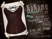 [nn] Mighty Me Corset - Baroque Red