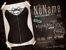 [nn] Mighty Me Corset - Black