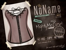 [nn] Mighty Me Corset - Pink