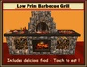 Country Barbecue Grill with Delicious Food to Eat !