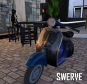 Swerve Scooter - Dark Avenger moped motorcycle*