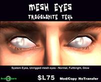 AB Eyes - Trogolodite Mesh Teal