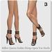 Killer queen gothic strap open toe heels 1