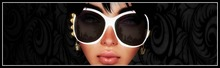 sunglasses channel DOLL'S HOUSE WHITE