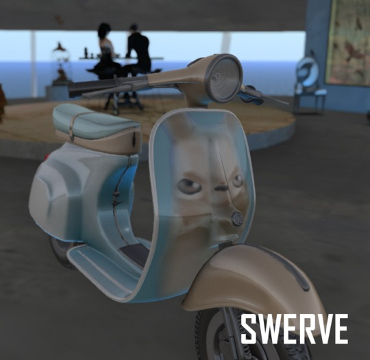 Swerve scooter- PooBear moped motorcycle*