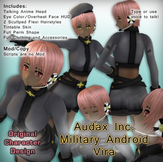 Audax Inc. Military Android - Vira