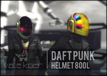 [VALE KOER] Daft Punk Helmet