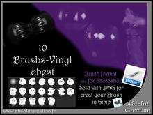 Photoshop Brushes latex -chest 01