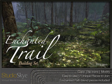 NEW * Enchanted Path Building Set - 100% MESH
