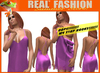 """""""REAL FASHION"""" - """"Oops"""" Camisole Purple - Mesh rigged"""