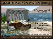 *PROMO PRICE* Beach Chair *Sylt* Strandkorb Single & Cuddle limited Time