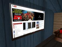 Flat 1 prim mesh TV
