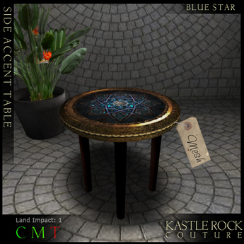 :KR: Home - Accent Table - BlueStar
