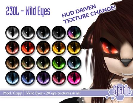 ::Static:: Wild Eyes