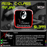 Mesh C-Class TipPic TipJar - Color Change