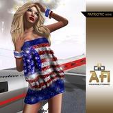 AFI Designs Patriotic Mini Dress (boxed)