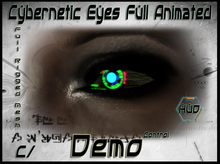 !Cyber animated eyes Mesh! update 5/17/2013 DEMO