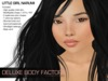 Asian child skin and shape, little girl Narumi from Deluxe Body Factory's Ethnic skin collection