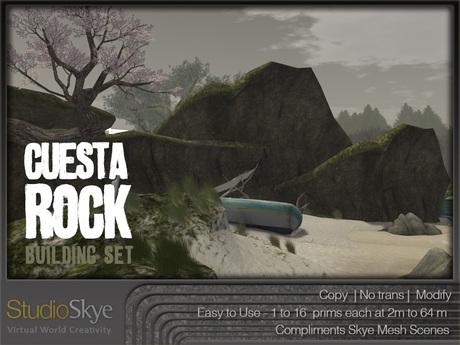 :NEW: Cuesta Rock Building Set - 100% MESH