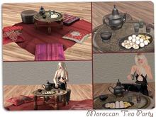 Moroccan Tea Party Set, 8 prims, Mesh