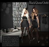 NS:: Black Queen Outfit