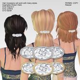 (Caroline's Jewelry) Diamond Hair Barrette