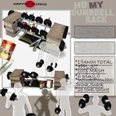 [HD]My Dumbbell rack(Copyable)