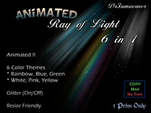 Dr3amweaver Animated Ray of Light 6 in 1 + Sparkle ** PROMO **