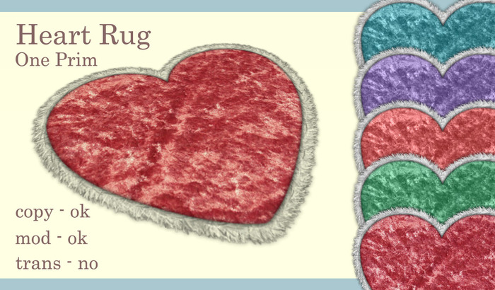 Heart Rug Boxed (Fat Pack)