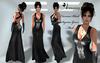***ARMONY Carressa Black Gown