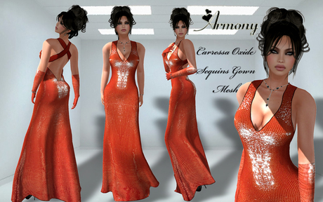 ***ARMONY Carressa Oxide Gown