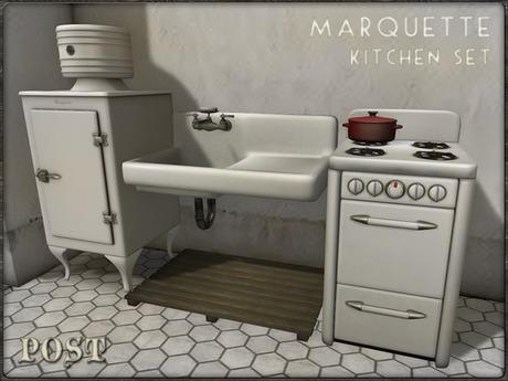 POST: Marquette Vintage Kitchen Set