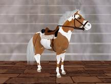 SPIRITUS III PALOMINO Western Pony