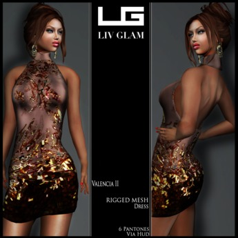 {LIV-Glam}.:Spring-2013:.Valencia Beaded Mini Dress II HUD