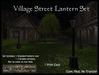Old World Designs Rustic Medieval Village Street Lantern set  - Low prim