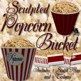 FUD CoLab #39 Sculpted Popcorn Bucket (Food, Movies)