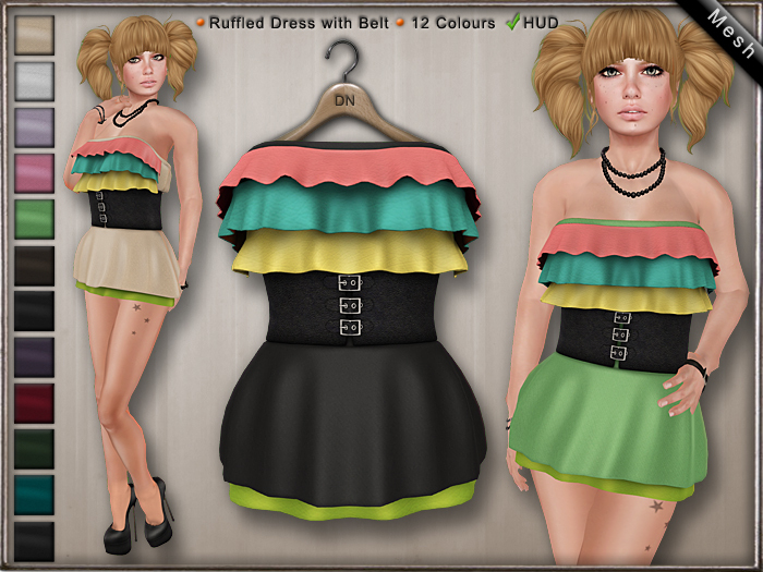 DN Mesh: Tabster Dress w HUD