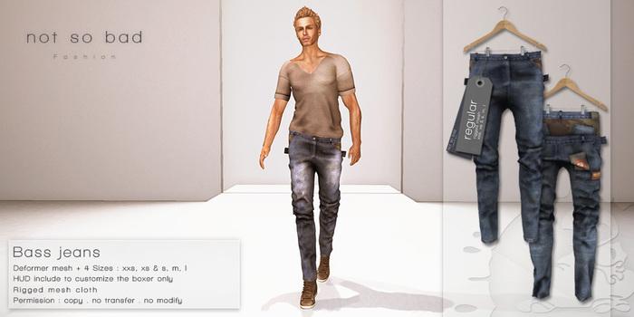 not so bad . BASS jeans . regular