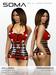 Soma - Red Latex Mini-Dress - Hugo's Design