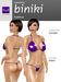 *HD* Elements - Bikini - Purple
