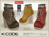 K-CODE MAYSSA - Rigged Mesh Boots - DEMO