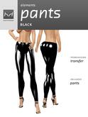 *HD* Elements - Pants - Black