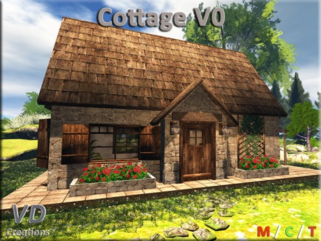 VD Creations Cottage V0 almost FREE (Boxed)