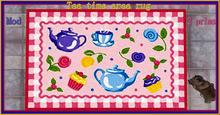Tea time are rug