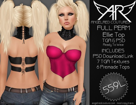 AngelRED - FULL PERM Ellie Top