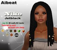 Aibeat *Niko* jetblack