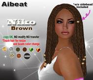 Aibeat *Niko* brown