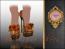 Boudoir -Burlesque Shoes Tiger Passion