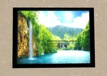 Animated waterfall screen