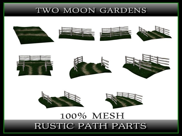 RUSTIC PATH - DIRT ROAD - Build your own Path